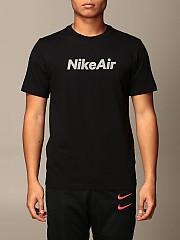 [관부가세포함][나이키] (CU7344 010)  Winter 20 남성  cotton 티셔츠 with logo