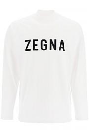 [관부가세포함][에르메네질도 제냐] (FZJ802 FZTS01 N01) FW20 남성 fearofgodzegna zegna x fear of god 티셔츠 flocked logo