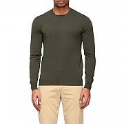 [관부가세포함][파올로 페코라] (A001 F100 5719)  Summer 20 남성  cotton crew neck 스웨터 military