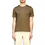 """[관부가세포함][일레븐티] (A75TSHA05 JER0A006 20)  Summer 20 남성  """"platinum"""" short-sleeved cotton 티셔츠 military"""