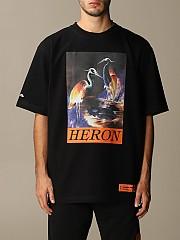 [관부가세포함][헤론 프레스톤] (HMAA020F20JER002 1020)  Winter 20 남성 티셔츠 men