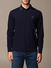 [관부가세포함][SUN68] (A40103 07)  Winter 20 남성 티셔츠 men  navy