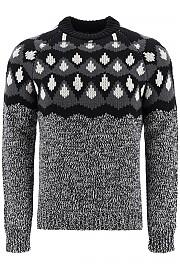 [관부가세포함][프라다] (UMB147 1XSW F0N5A) FW20 남성  jacquard 스웨터 f3