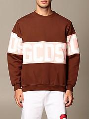 [관부가세포함][GCDS] (CC94M021012 014)  Winter 20 남성  cotton 스웨트셔츠 with logo