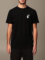 [관부가세포함][오프화이트] (OMAA027F20FAB009 1001)  Winter 20 남성 티셔츠 men off