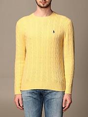 [관부가세포함][랄프로렌] (710719546 028)  Winter 20 남성 polo 니트 풀오버 in cable-knit wool and cashmere