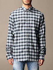 [관부가세포함][디스퀘어드2] (S71DM0434 S53166 001F)  Winter 20 남성 shirt men