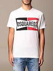 [관부가세포함][디스퀘어드2] (S71GD0981 S22427 100)  Winter 20 남성 티셔츠 men