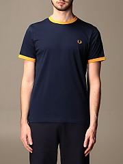 [관부가세포함][프레드페리] (M3519 584) Winter 20 남성 반팔 티셔츠