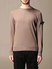 [관부가세포함][스톤아일랜드] (526C4 V0068)  Winter 20 남성  스웨터 in merinos wool mud