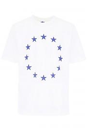 [관부가세포함][ETUDES] (WONDER EUROPA WHITE) SS19 남성  europe 티셔츠