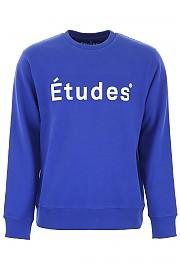 [관부가세포함][ETUDES] (STORY ETUDES BLUE) SS19 남성  logo 스웨트셔츠