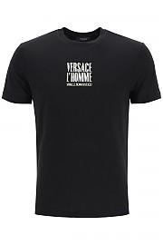 [관부가세포함][베르사체] (A86436 A228806 A1008) FW20 남성  l'homme print 티셔츠
