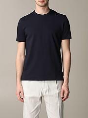 [관부가세포함][파올로 페코라] (F30B 4169 6685) Summer 20 남성 반팔 티셔츠