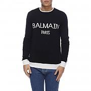 [관부가세포함][발망] (RH03672K100 EAB) 남성 니트 스웨터
