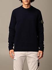 [관부가세포함][스톤아일랜드] (552A3 V0020) Winter 20 남성 니트 스웨터