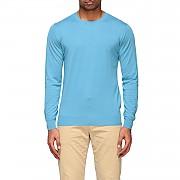 [관부가세포함][파올로 페코라] (A002 F200 6504)  Summer 20 남성  crewneck 스웨터 in silk and cotton gnawed
