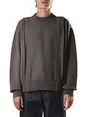 [관부가세포함][자크뮈스] (206KN09 206200890BROWN) AI20 남성 니트 스웨터