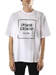 [관부가세포함][오프닝세레모니] (YMAA001F20JER007 OPTIC WHITE) AI20 남성 반팔 티셔츠