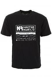 [관부가세포함][Martine Rose] (MRSS19 621 BLK) SS19 남성 반팔 티셔츠