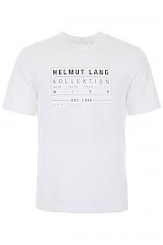 [관부가세포함][핼무트랭] (J04HM513 100) FW19 남성 반팔 티셔츠