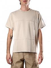 [관부가세포함][자크뮈스] (206JS18 20622425ADARK BEIGE) AI20 남성  티셔츠 and polos