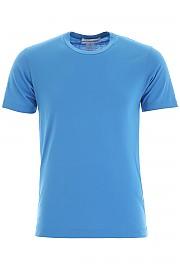 [관부가세포함][꼼데가르송] (W27117 BLUE) FW19 남성  basic 티셔츠