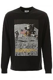 [관부가세포함][캘빈클라인] (J90J900214 BAE) FW19 남성  established 1978 long-sleeved moon landing 티셔츠