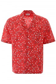 [관부가세포함][루드] (04ASH03701 RED) FW19 남성 반팔 셔츠