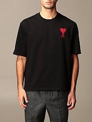 [관부가세포함][아미] (H20HJ134726 001)  Winter 20 남성 티셔츠 men
