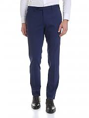 [관부가세포함][로타] Blue wool trousers (500/2/C EL708/009)