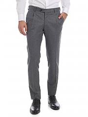 [관부가세포함][루비암1911] Pleated 팬츠 in grey (8421 00121/1)