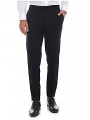 [관부가세포함][인코텍스] FW19 Black 남성 팬츠 with elastic at the waist (1AG63R 4536Z 990)