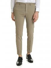 [관부가세포함][인코텍스] FW19 Tight fit 남성 팬츠 in beige cotton (ZR851Z 4244W 407)
