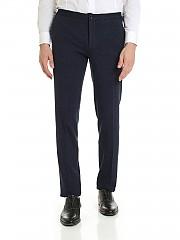 [관부가세포함][인코텍스] FW19 남성 팬츠 in shades of blue with drawstring (1AG064 40051 815)