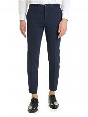[관부가세포함][인코텍스] FW19 Tight fit 남성 팬츠 in blue cotton (ZR851Z 4244W 813)
