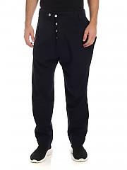 [관부가세포함][비비안웨스트우드 앵글로매니아] FW19 남성 팬츠 Alcoholic trousers in blue (21020006-11094 K001)