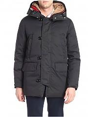 [관부가세포함][홀루바] Black down jacket with alpaca fur (M186 LI77 AN30)