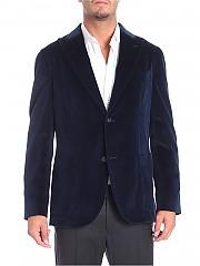 [관부가세포함][볼리올리] 2 buttons blue velvet jacket (N6302E BFC033 0780)