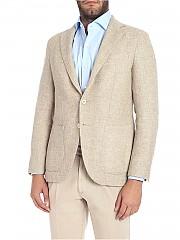 [관부가세포함][카루소] Beige two-button jacket (AS2JM304H 502234 0570)
