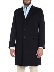 [관부가세포함][카루소] Dark blue three buttons coat (AS532F PE0505 0110)