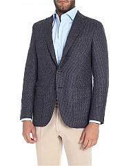 [관부가세포함][카루소] Blue three-roll jacket (AS2JM304H 502086 0120)