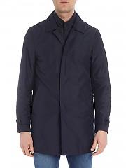[관부가세포함][페이] Blue technical fabric coat (NAM61380030 AXXU808)