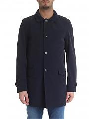 [관부가세포함][페이] Fay man overcoat in blue (NAM6138067S QAEU807)
