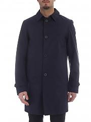 [관부가세포함][에르노 라미나르] Long blue coat in Gore-tex (IM021UL 11107 9201)