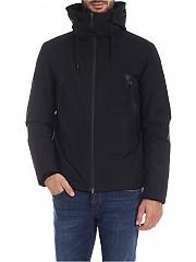 [관부가세포함][에르노 라미나르] Gore-Tex down jacket in black with hood (PI115UL 11121 9300)