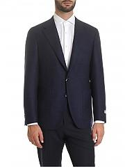 [관부가세포함][까날리] Blue wool jacket (CU00034.306 20276)