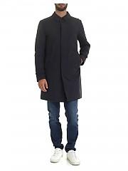 [관부가세포함][에르노 라미나르] Down jacket in blue technical fabric (PI099UL 11121 9201)