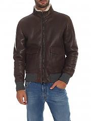 [관부가세포함][Volfagli] Vintage effect leather 남성 레더 재킷 (DE SICA VINTAGE MARRONE)