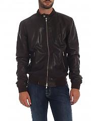 [관부가세포함][S.W.O.R.D 6644] Impact Collection brown 남성 레더 재킷 (5307 IM15 OAK)